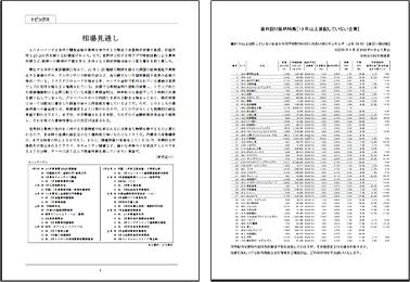市場ニュース、トピックス